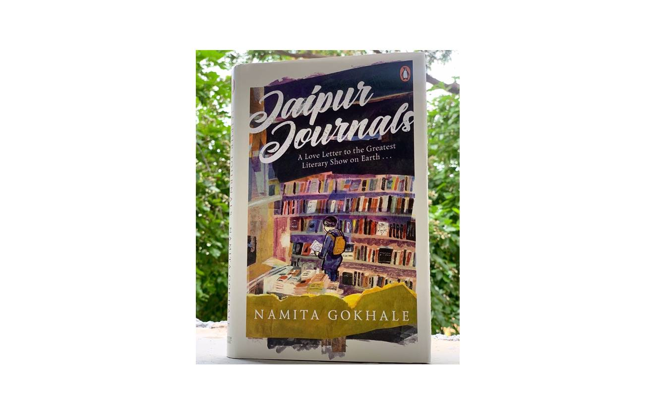 Book review of Namita Gokhale's Jaipur journals by Elysian Bookgraphy