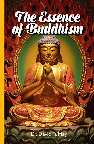 Cover pic of The Essence of Buddhism Book Review by Elysian Bookgraphy