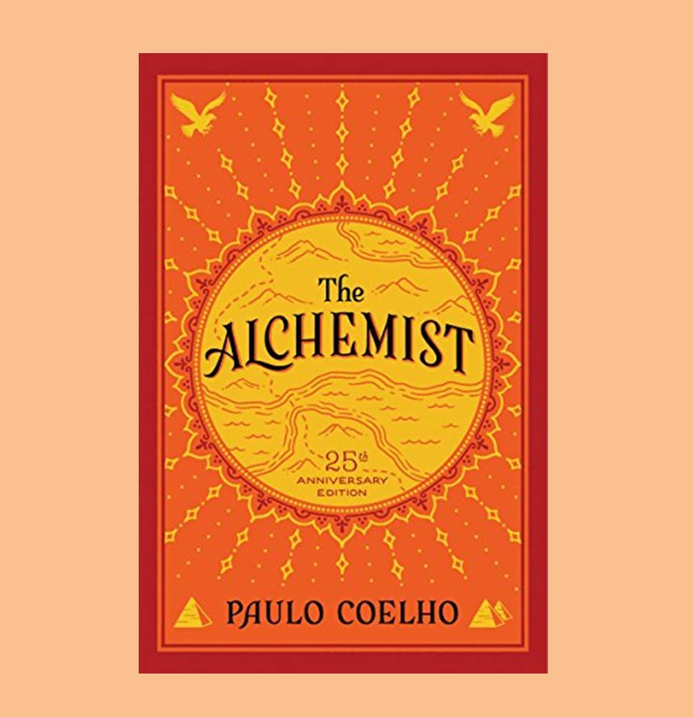 My thoughts on The Alchemist cover pic by Elysian Bookgraphy