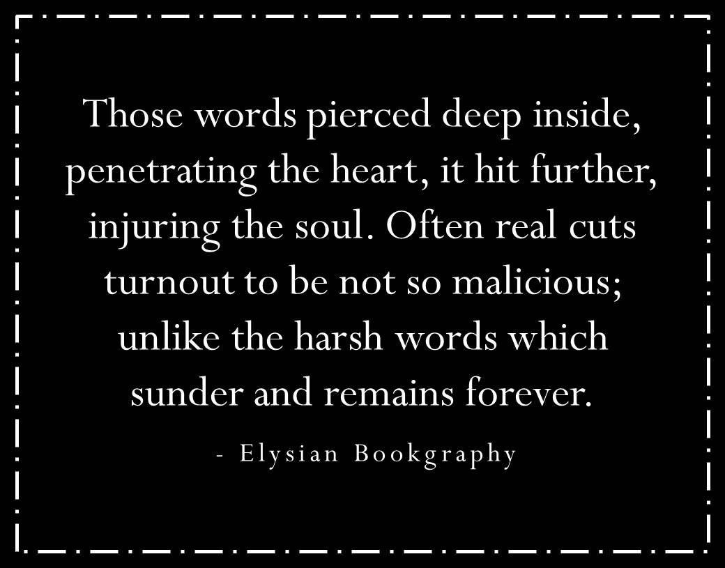 Cover pic of Words an elysian bookgraphy poetry