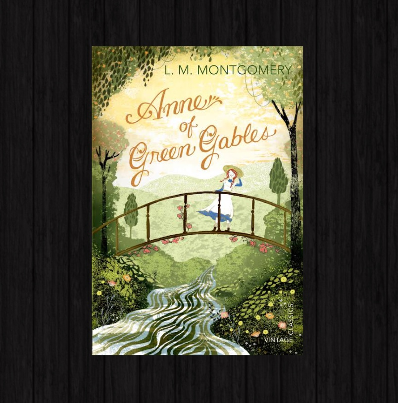Cover pic of Elysian Bookgraphy Book Review of Anne of Green Gables by L.M. Montgomery