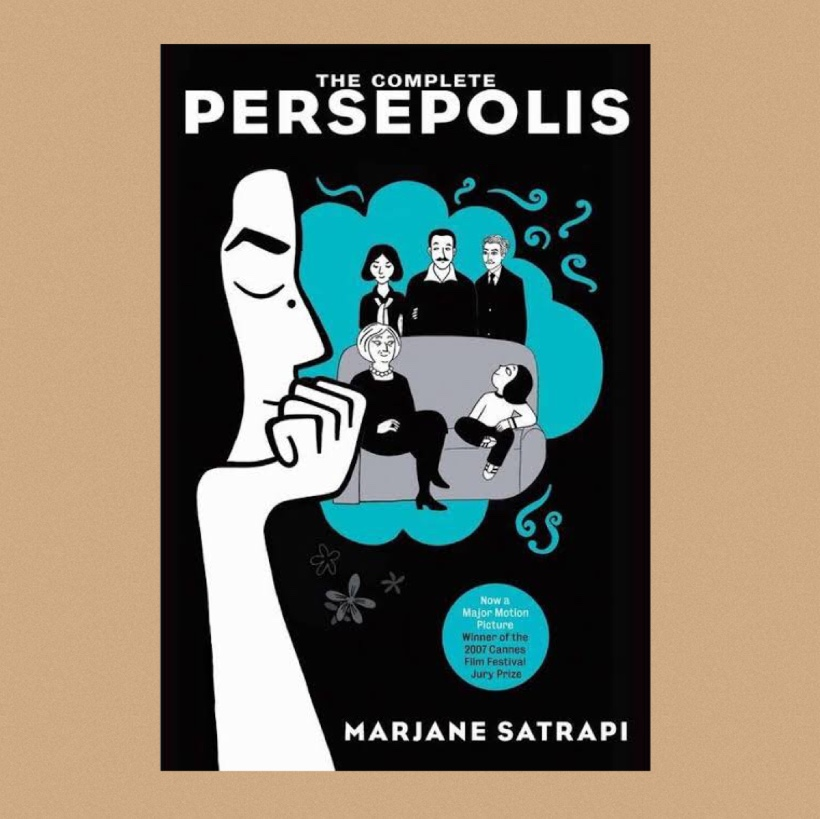 Cover pic of Elysian Bookgraphy Review of Persepolis