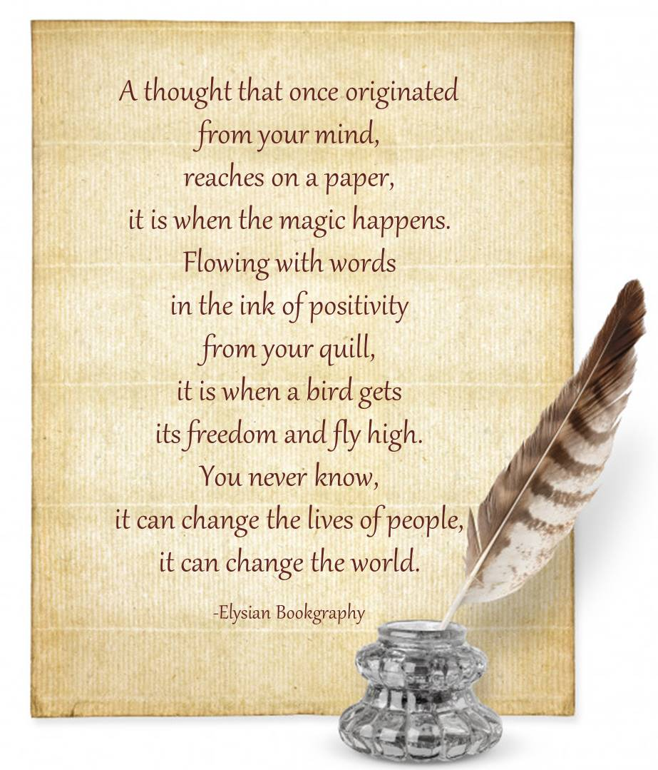 Cover Pic of Paper & Quill by Elysian Bookgraphy
