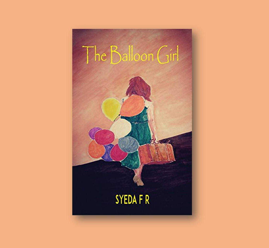 Cover Pic of Book Review of The Balloon Girl by Elysian Bookgraphy.