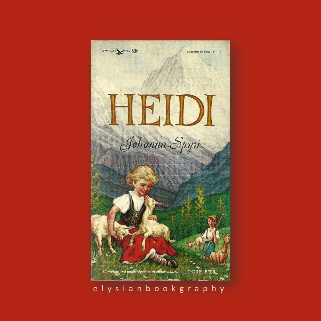 Cover pic of Heidi Book Review by Elysian Bookgraphy