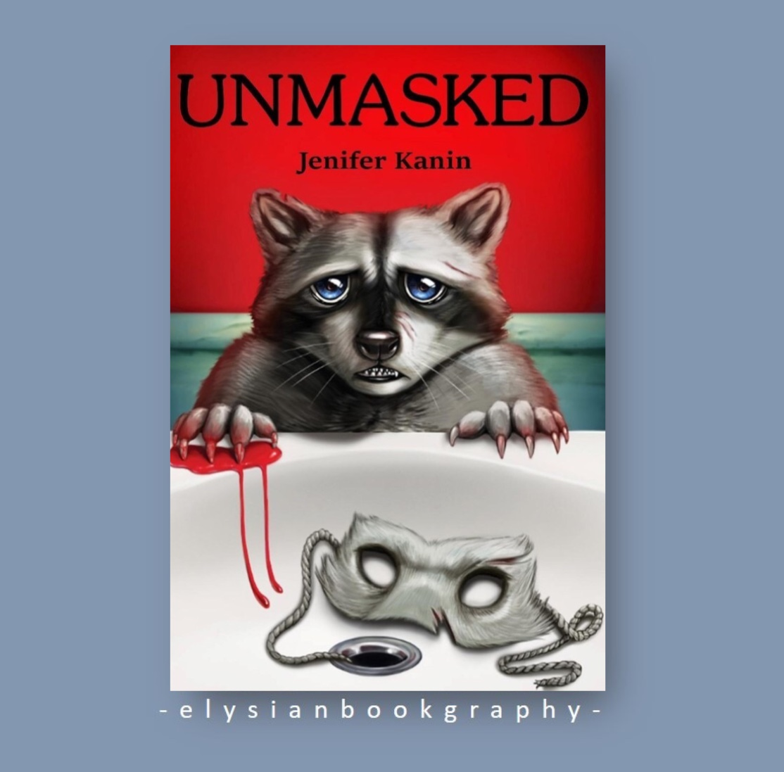 Cover pic of Unmasked Book Review by Elysian Bookgraphy