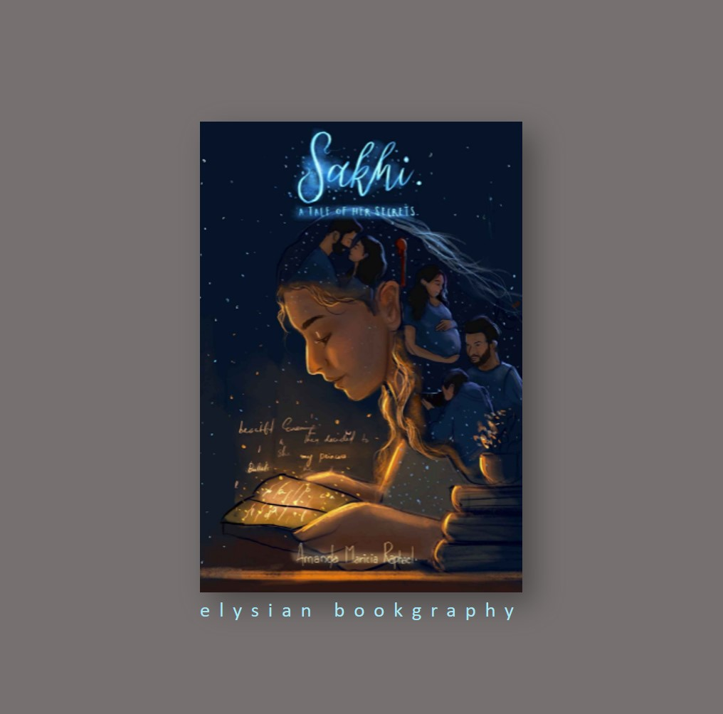 Cover Pic of Book Review of Sakhi by Elysian Bookgraphy